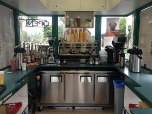 Coffee Drive Thru Kiosk